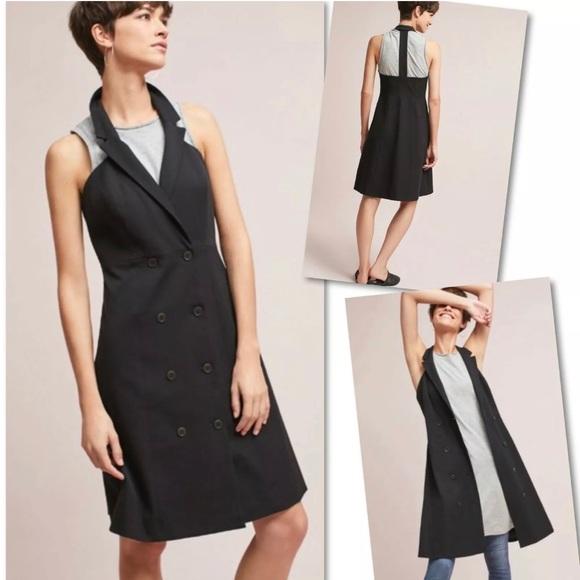 Anthropologie Dresses & Skirts - ANTHROPOLOGIE MAEVE LORETTA DBLE BREASTED DRESS 4